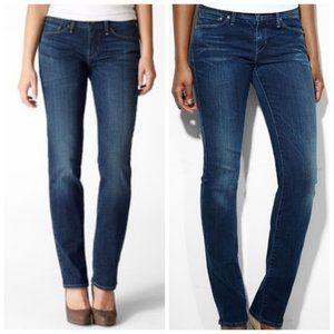 LEVI'S Demi Curve Blue Straight Leg Jeans